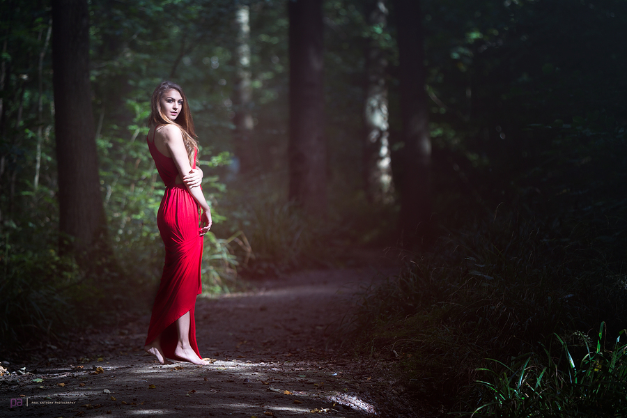 Little Red Riding Hood waiting for the Huntsman to whisk her away.... / Photography by Paul Anthony Photography, Post processing by Paul Anthony Photography / Uploaded 25th September 2016 @ 12:52 PM