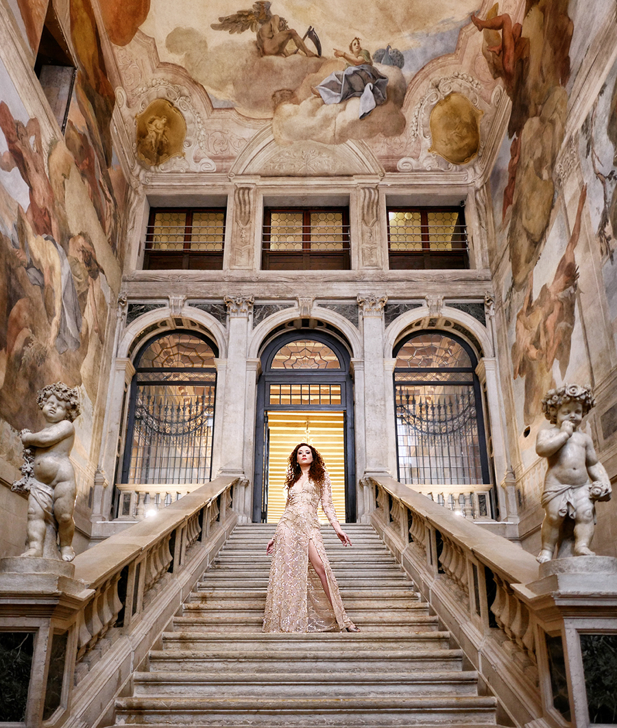 Stairway to Heaven / Photography by Jeremy, Model Ella Rose Muse / Uploaded 11th April 2018 @ 07:12 PM