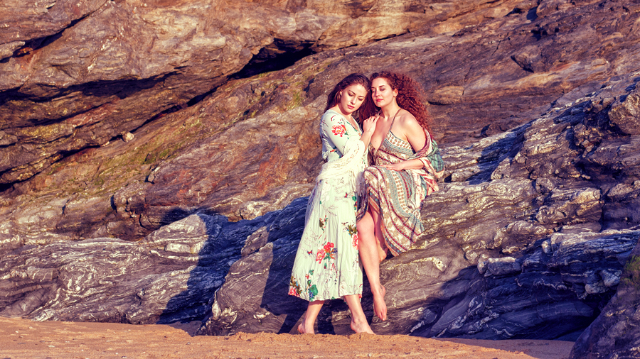 As the sun goes down / Photography by Jeremy, Models Joy Draiki, Models Ella Rose Muse / Uploaded 6th June 2019 @ 02:04 PM