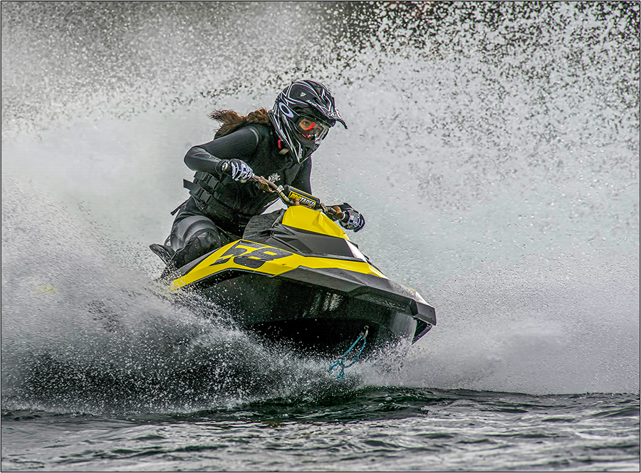 She Rides The Water / Photography by Stuart Daffin  LRPS  EFIAP/s  BPE5 / Uploaded 13th January 2021 @ 01:57 PM