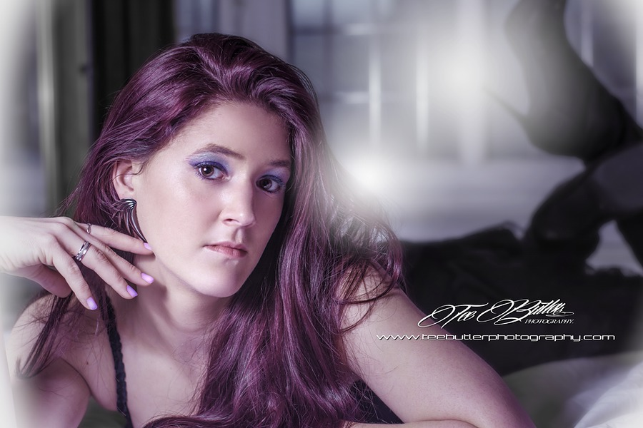 Purple Haze / Photography by teebutlerphotography, Model Syren, Makeup by Syren, Post processing by teebutlerphotography, Taken at teebutlerphotography, Hair styling by Syren / Uploaded 1st January 2017 @ 08:04 PM