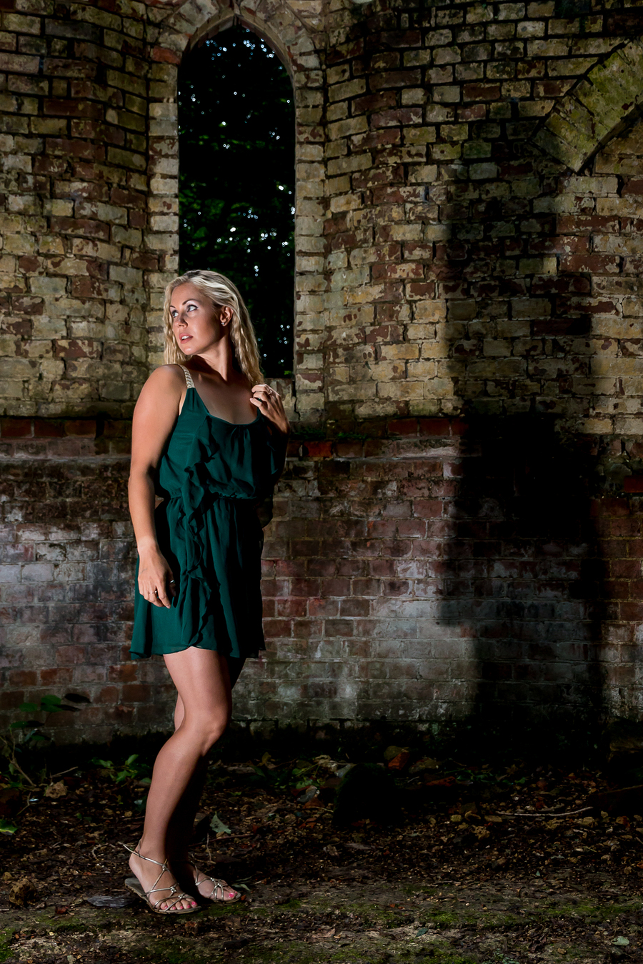 Bedham ruins / Photography by AnthonyG, Model Morgana Buxton, Makeup by Morgana Buxton, Stylist Morgana Buxton, Hair styling by Morgana Buxton / Uploaded 7th August 2017 @ 11:29 PM