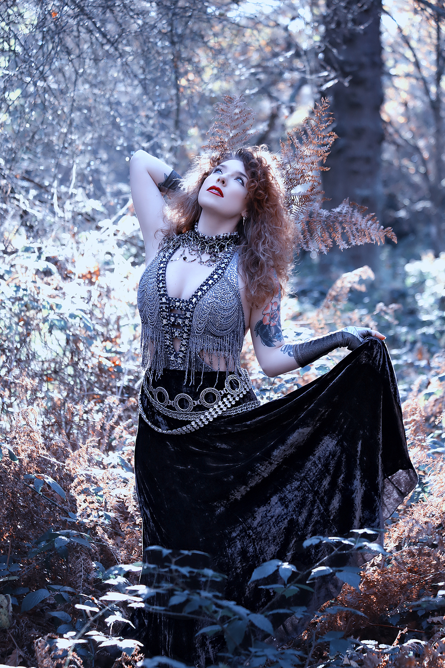 Morning in the Enchanted Forest / Photography by Sam Stormwolf, Makeup by Sam Stormwolf, Post processing by Sam Stormwolf / Uploaded 11th June 2019 @ 02:20 PM