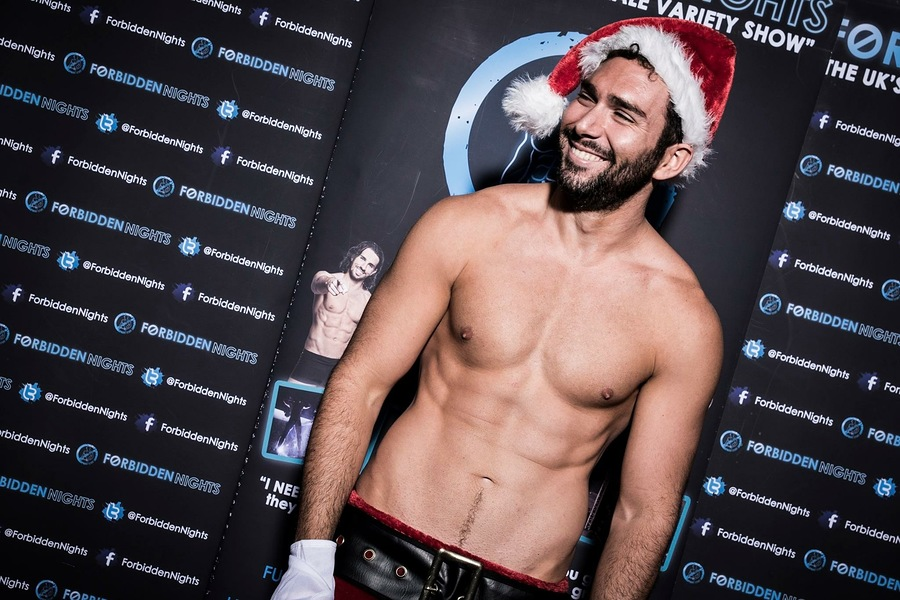Santa's ready for the naughty ones / Model Carlos B. / Uploaded 10th December 2019 @ 01:57 PM