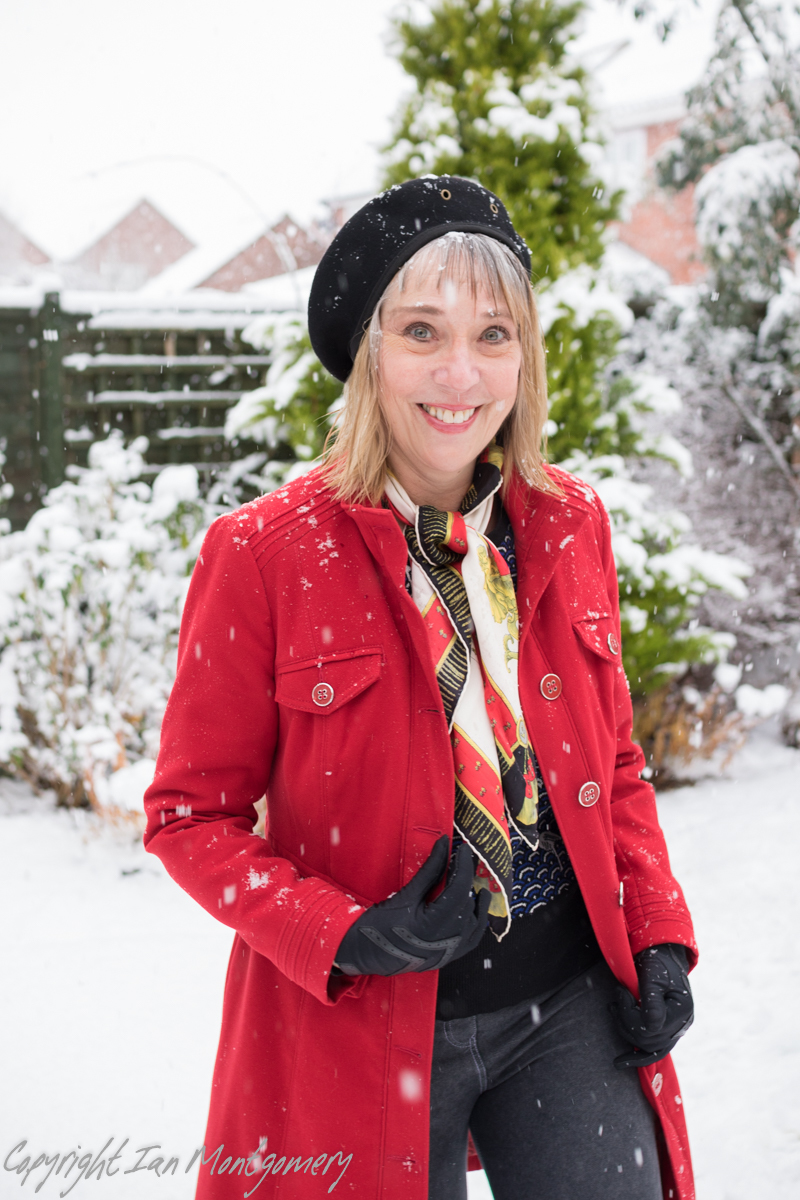 Snow time to be cold / Photography by Ian-M, Model Dangerous Lady / Uploaded 13th July 2019 @ 06:34 AM