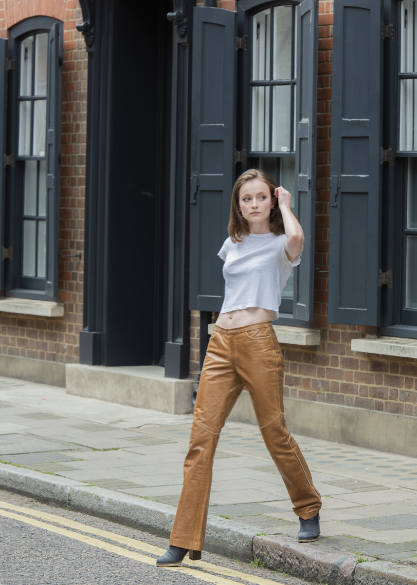 Emma in Shoreditch / Photography by The Photographer Brian Harris / Uploaded 9th December 2019 @ 08:44 PM