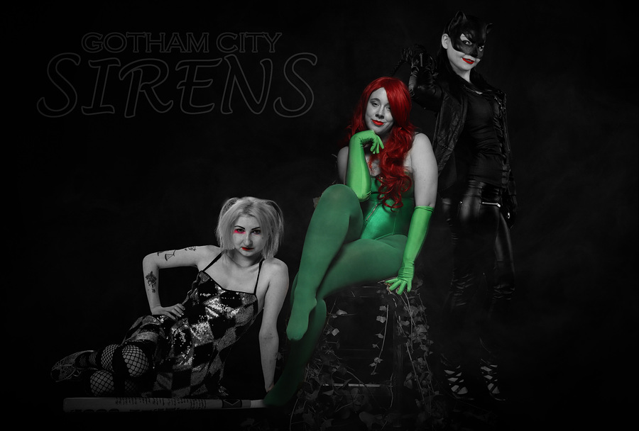 Gotham City Sirens 2 / Photography by MC-2, Model Scarlet Phoenixx, Post processing by MC-2, Taken at PGD Modelling and Photography Studios / Uploaded 22nd September 2019 @ 08:16 AM