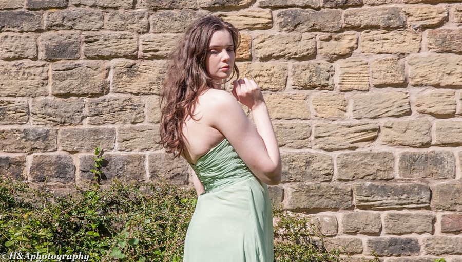 teal green ball gown / Photography by HHPhotography, Model SheridanLeighxx / Uploaded 24th April 2017 @ 11:55 AM