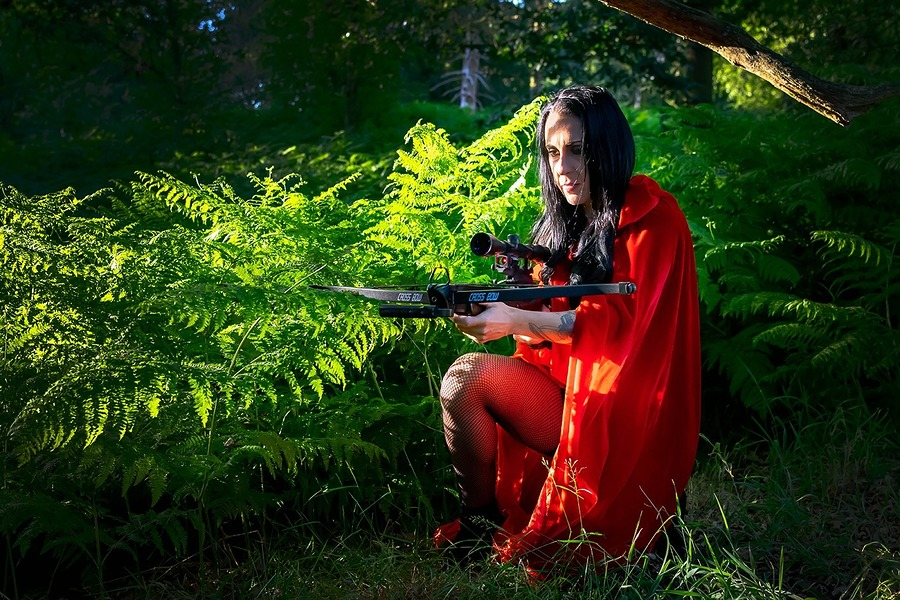 Mean miss red riding hood / Photography by Neil Thetford, Post processing by Neil Thetford / Uploaded 30th June 2018 @ 11:01 AM