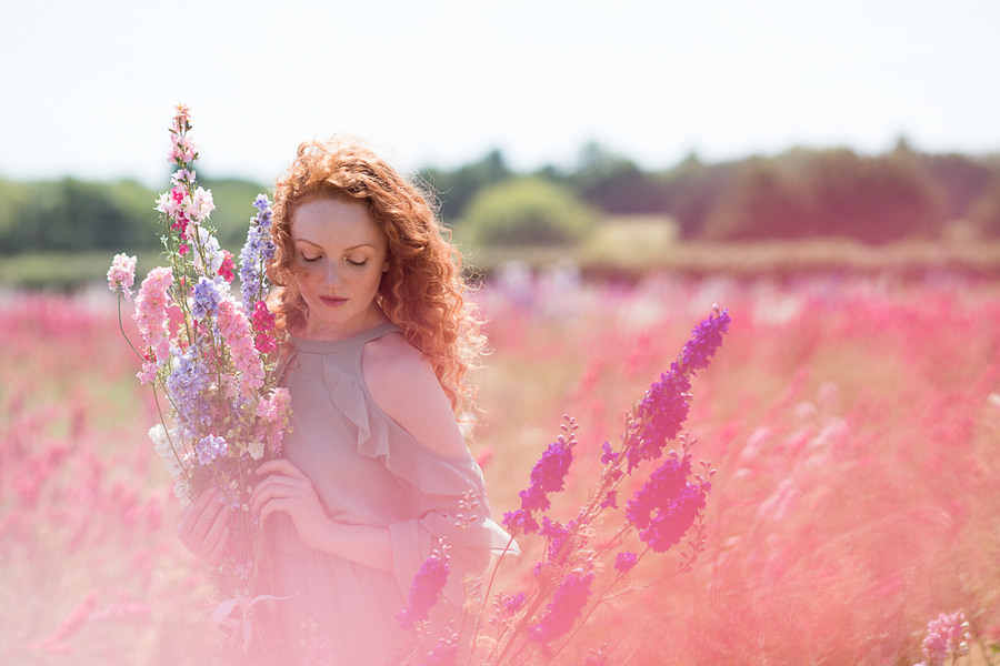 Confetti Fields / Photography by Rebecca Knowles Photography, Model Ivory Flame / Uploaded 16th July 2018 @ 08:03 PM