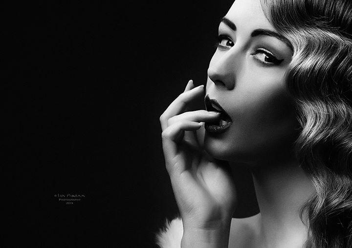 Old Hollywood Glamour / Photography by Iain Hamilton Photography - Studio 301, Model Jen Brook, Makeup by Kiran Mal, Stylist Kiran Mal / Uploaded 18th October 2015 @ 09:22 PM