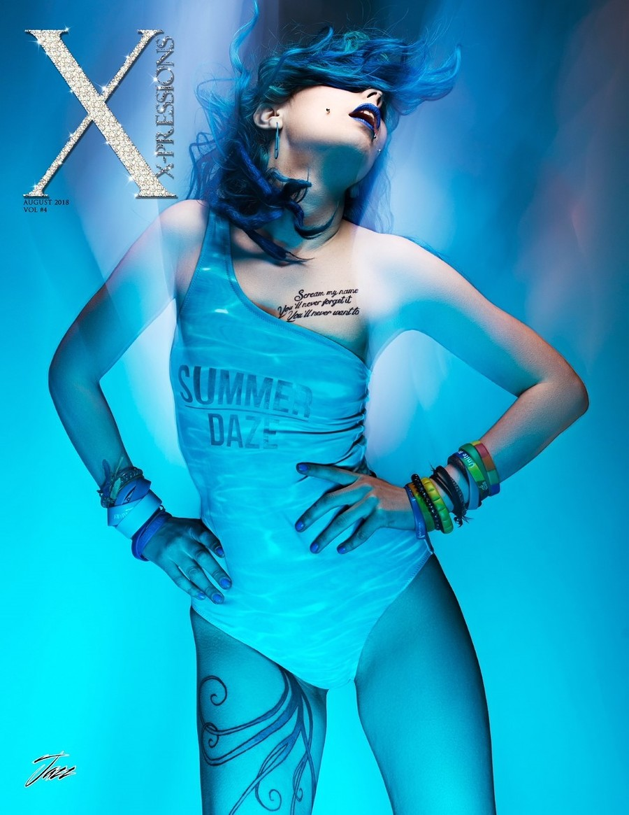 Front Cover Xpressions 2018 / Photography by Stokeparker, Model JAZZebell_ / Uploaded 23rd May 2019 @ 07:18 PM