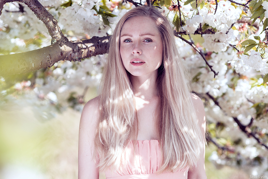 Ingvild in the Blossoms / Photography by Jade Lyon Photography / Uploaded 22nd April 2017 @ 05:55 PM