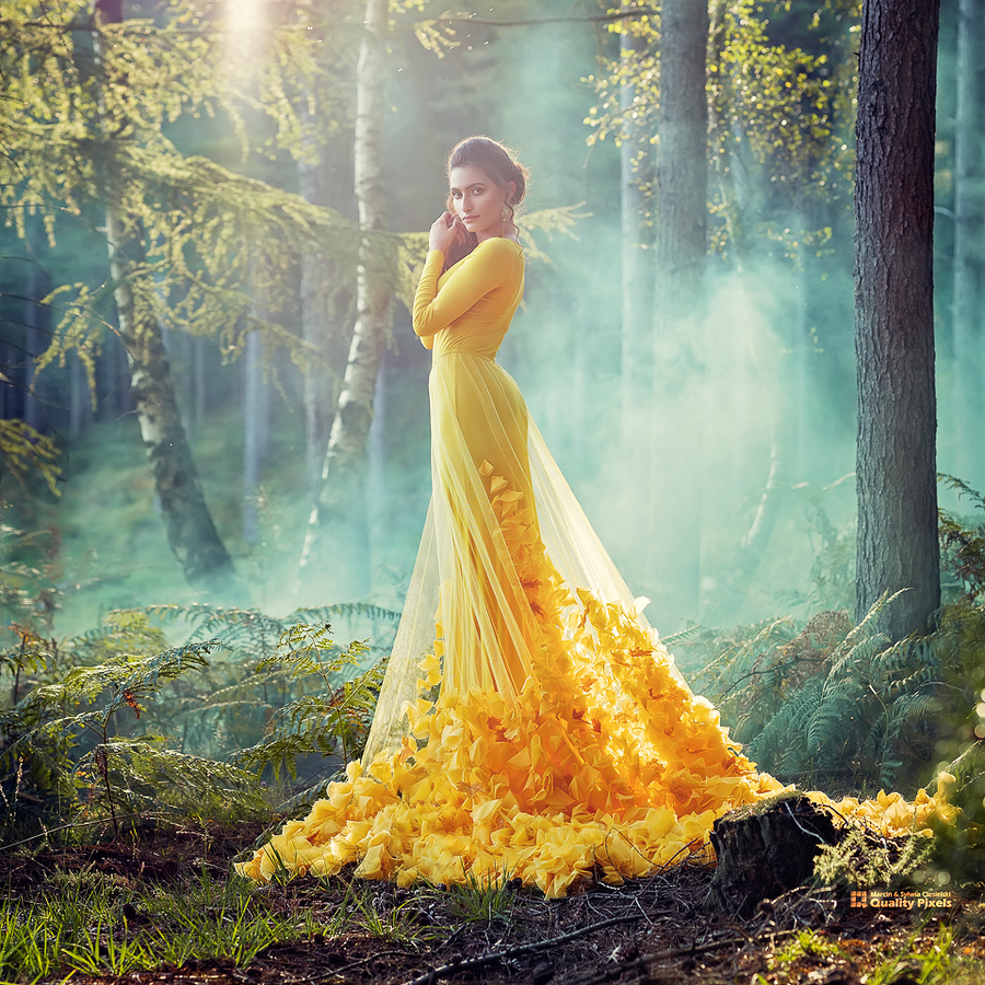Into the woods... / Photography by Quality Pixels, Model Ria Fantastic, Makeup by Jules Robson / Uploaded 7th October 2019 @ 10:08 AM
