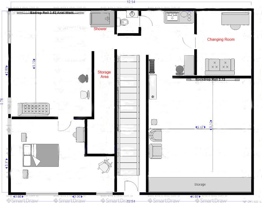 Floor Plan / Taken at Fareham Studio / Uploaded 27th August 2020 @ 04:09 PM