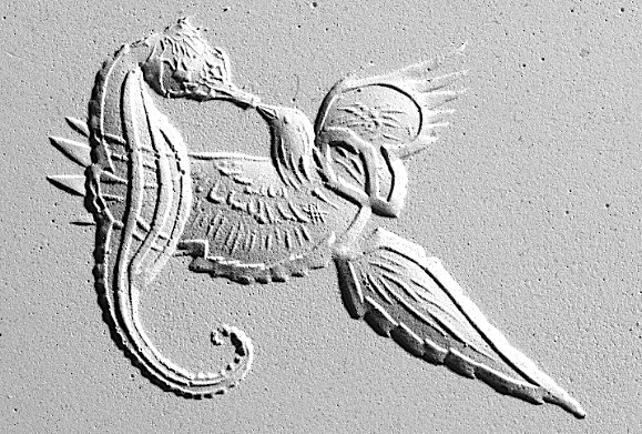Bird & Sea-Horse / Artwork by VADAVA / Uploaded 15th January 2017 @ 09:24 PM