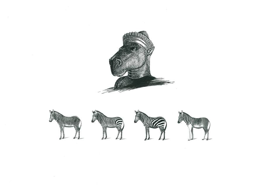The Zebra's Series -1- / Artwork by VADAVA / Uploaded 22nd January 2017 @ 04:40 PM