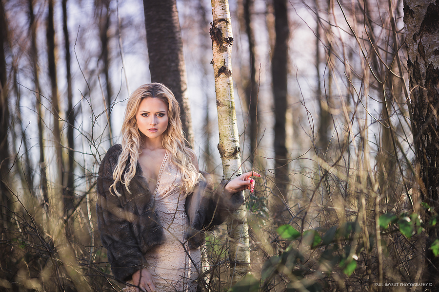 lost in the forest / Photography by Paul Baybut Photography, Model Katie Royle, Makeup by Katie Royle, Stylist Katie Royle, Hair styling by Katie Royle / Uploaded 21st February 2017 @ 09:57 PM