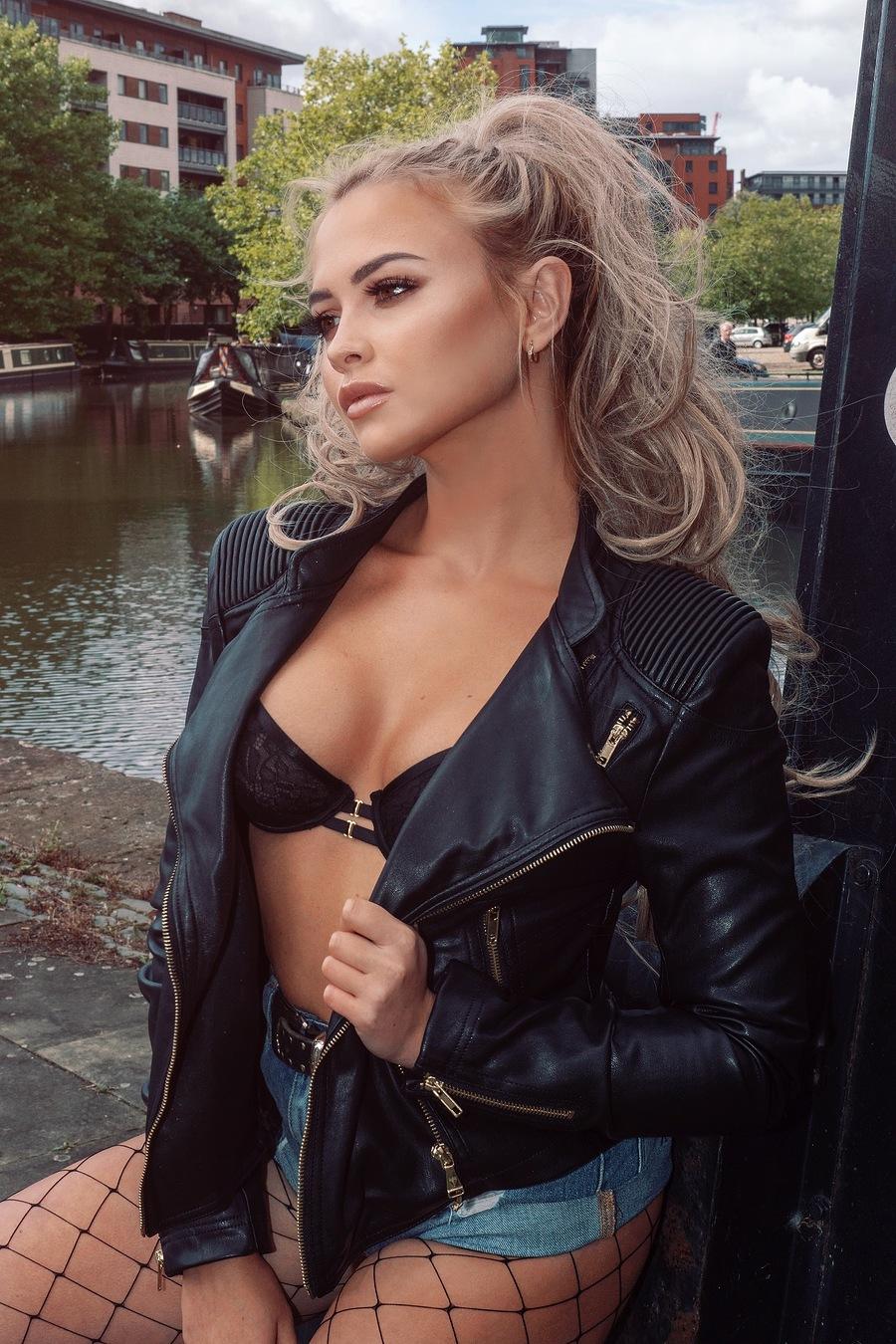 Leather / Model Katie Royle / Uploaded 13th November 2018 @ 08:43 PM