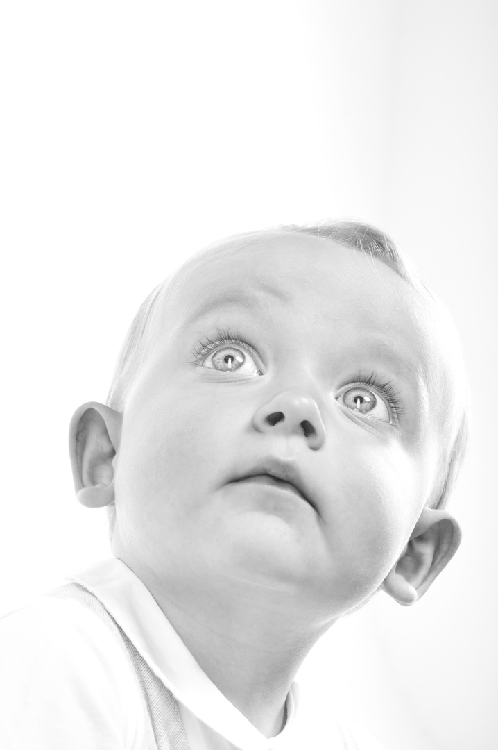 Big Eyed Baby Boy / Photography by John J Bloomfield / Uploaded 29th May 2018 @ 11:50 AM