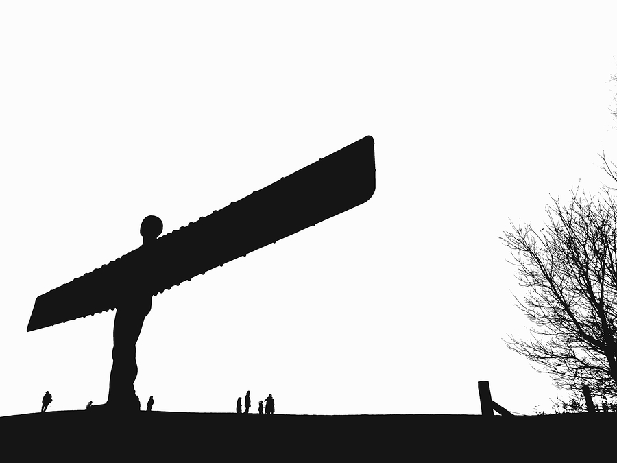 Angel of the North - Abstract / Photography by John J Bloomfield, Model John J Bloomfield / Uploaded 4th July 2018 @ 09:42 PM