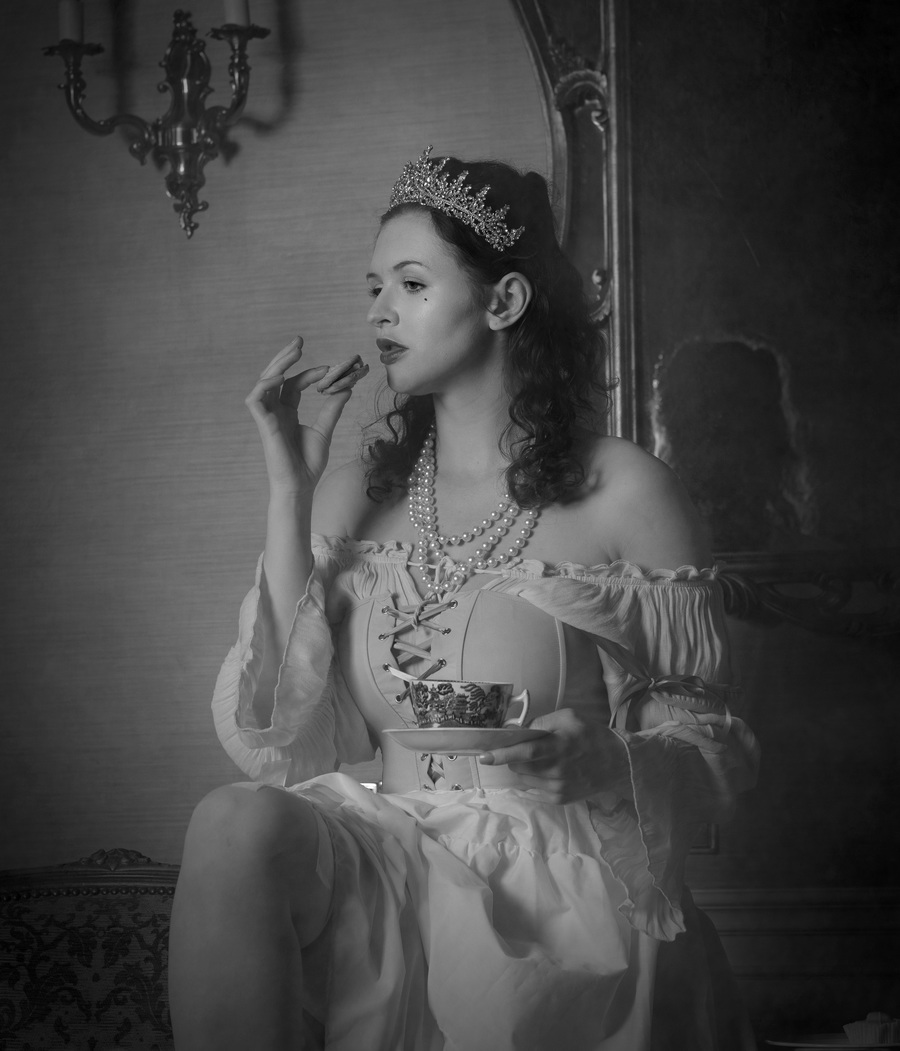 Afternoon Tea / Photography by Cazpink, Model Lizzie Bayliss / Uploaded 29th August 2021 @ 08:52 AM