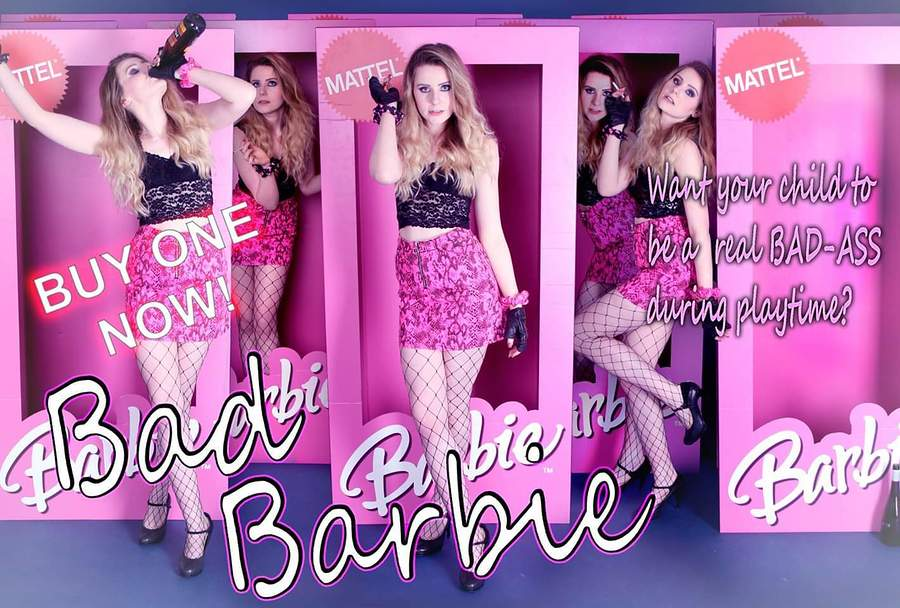 Bad Barbie 📸💄💖 / Photography by MC-2, Model CharlBrowny, Makeup by Zoe H (MUA) / Uploaded 6th May 2019 @ 04:39 PM