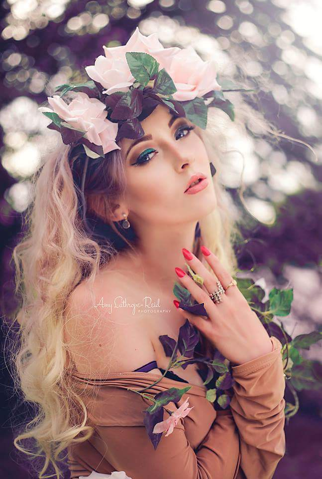 Woodland beauty / Model Amber Farndon, Makeup by Jane Charlotte, Stylist Jane Charlotte, Hair styling by Jane Charlotte / Uploaded 31st July 2017 @ 04:33 AM