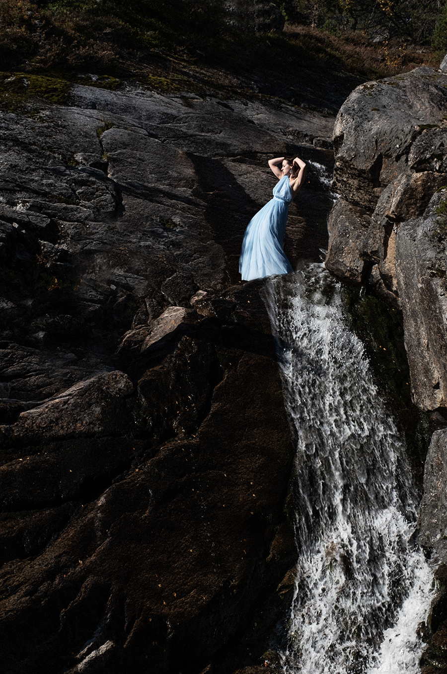 Waterfall fashion / Photography by JPea, Model Keira Lavelle, Post processing by JPea, Taken at Keira Lavelle / Uploaded 9th October 2021 @ 06:33 PM