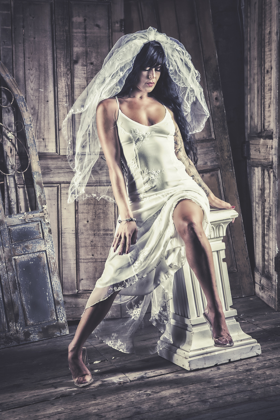 Bridal thoughts / Photography by Paul Lucas Photography, Model Michelle Gavin, Post processing by Paul Lucas Photography, Stylist Michelle Gavin, Taken at Studio Fifty Eight / Uploaded 4th April 2021 @ 10:07 AM