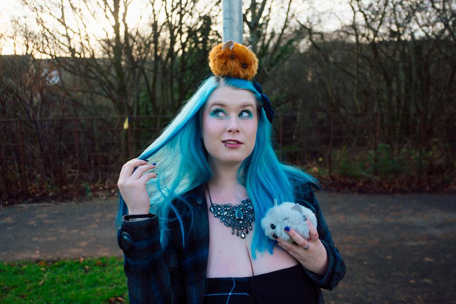 Haggis Hunt / Model BlueMerkitten, Makeup by BlueMerkitten, Stylist BlueMerkitten, Hair styling by BlueMerkitten / Uploaded 8th February 2019 @ 12:42 PM