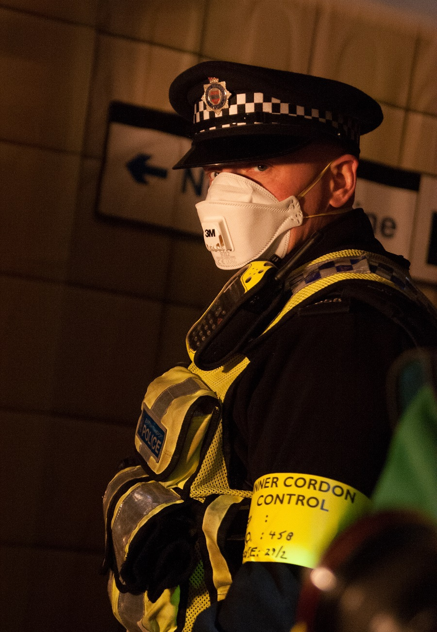 Police Cordon / Photography by Adrian Stewart / Uploaded 6th April 2017 @ 09:08 AM