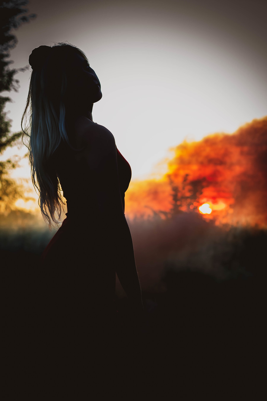 Sunset Silhouette / Photography by Madonna Marie / Uploaded 21st September 2019 @ 03:11 PM