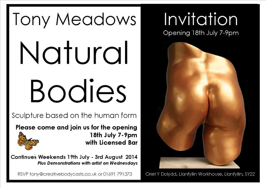 New Exhibition / Artwork by CreativeBodycasts / Uploaded 2nd July 2014 @ 09:48 AM