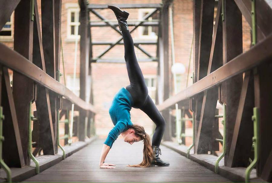 Contortion / Model Erica Mulkern / Uploaded 12th July 2017 @ 01:30 PM