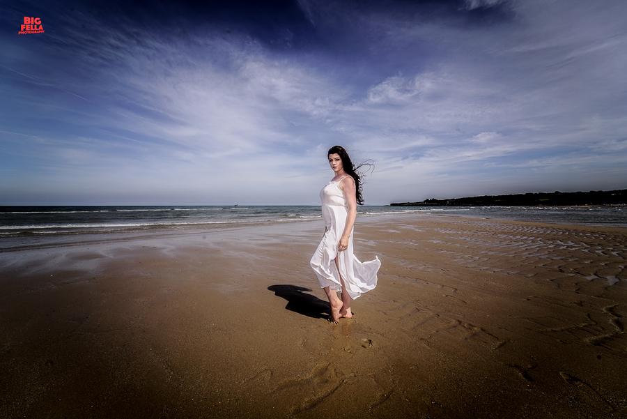Beach Dress / Photography by Big Fella Photography, Model Rhianna Grey / Uploaded 5th July 2018 @ 09:20 PM