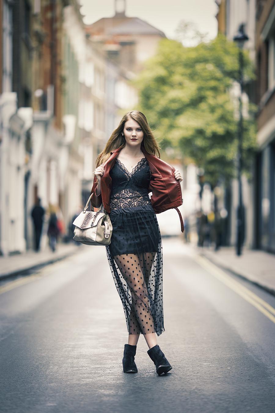 Street fashion / Photography by StephenJ, Model Chloe. / Uploaded 30th July 2017 @ 02:46 PM