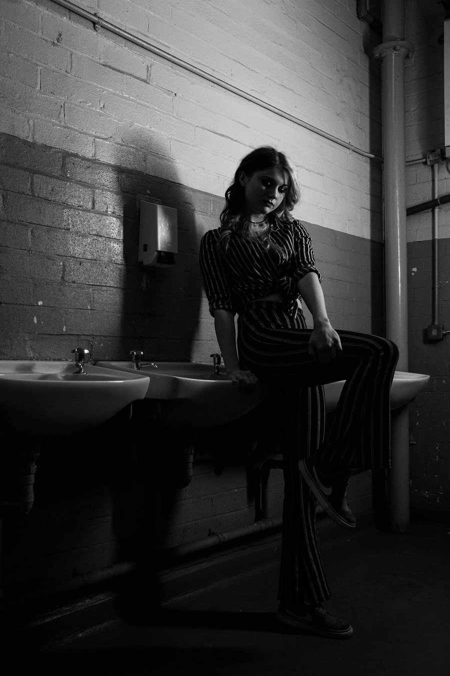The men's rooms / Photography by Jarv, Model Alice Bates / Uploaded 13th November 2018 @ 09:39 PM