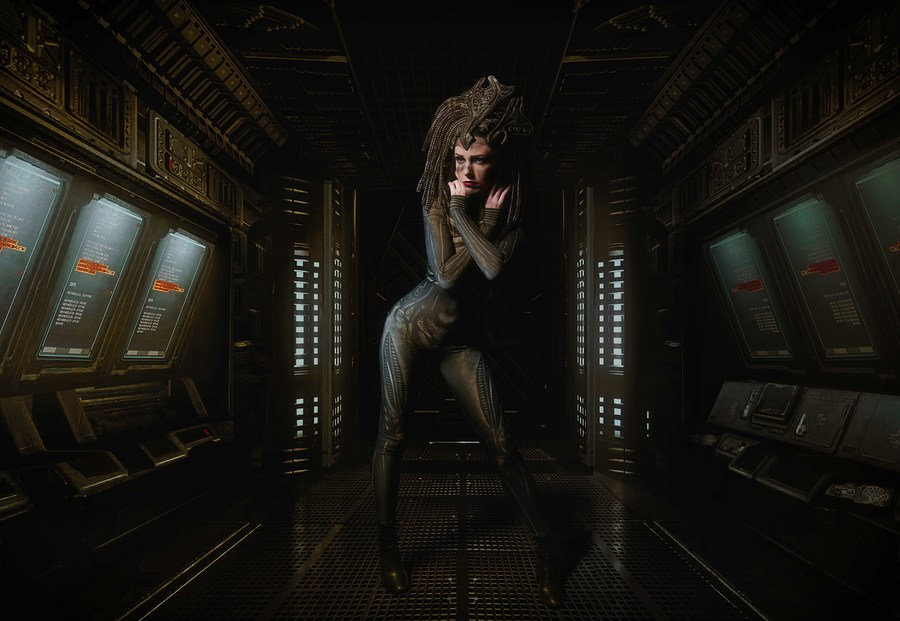 Alien onboard / Photography by Mark Hampson Photography, Model antoniajay, Post processing by Mark Hampson Photography, Stylist Mark Hampson Photography / Uploaded 24th November 2020 @ 03:51 PM