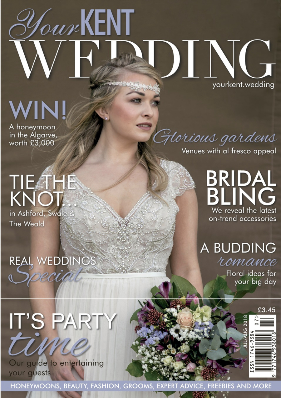 Your Kent Wedding - Front Cover / Photography by Photo Jeff / Uploaded 16th April 2019 @ 08:58 AM