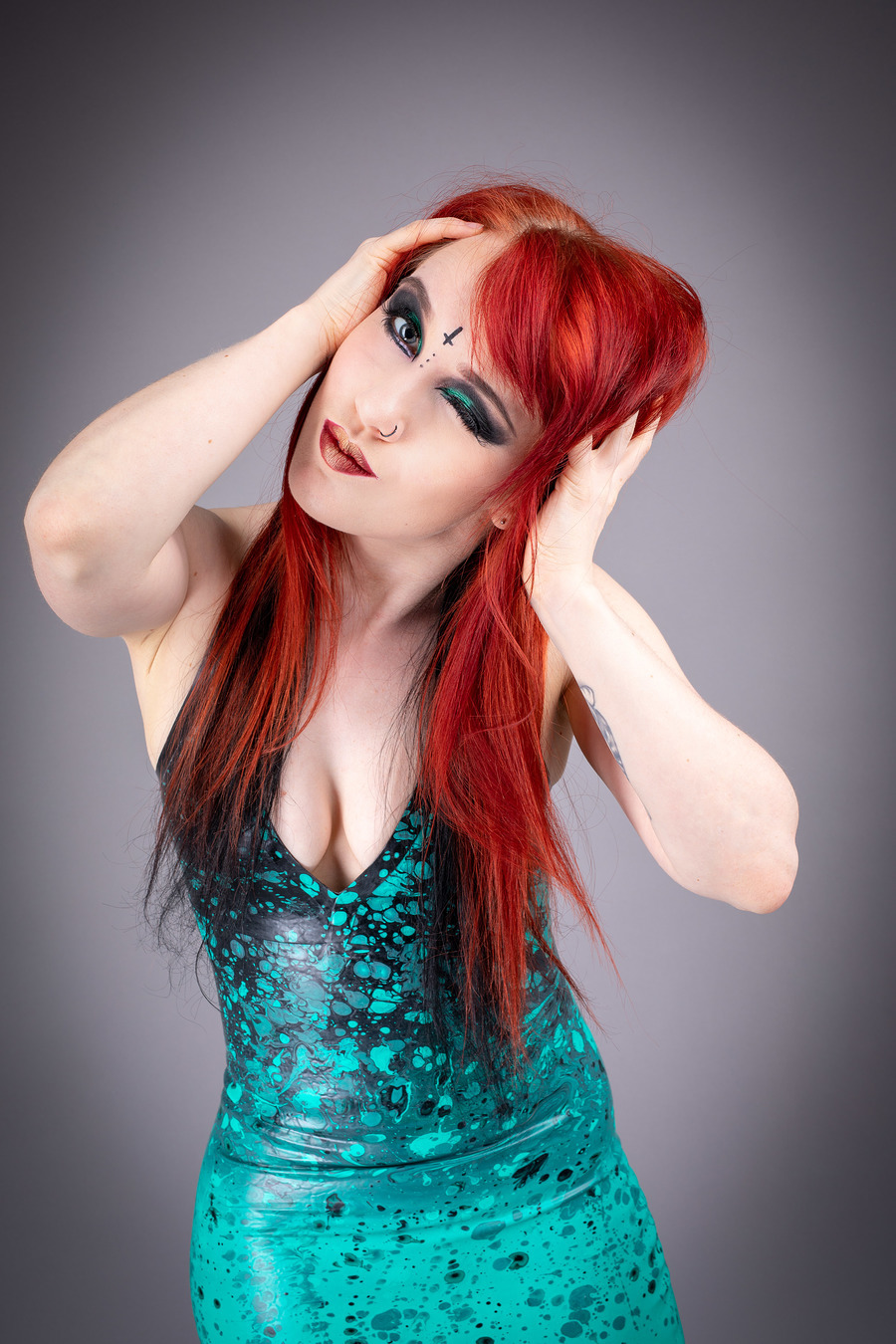 Photography by Latex & Lingerie, Model Alixxiia, Makeup by Kjlemon, Hair styling by Kjlemon / Uploaded 18th September 2018 @ 08:08 PM