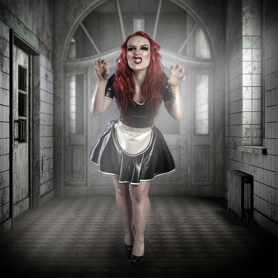 Asylum / Photography by Darkpurity's Art, Model Alixxiia, Makeup by Alixxiia, Post processing by Darkpurity's Retouch, Hair styling by Alixxiia / Uploaded 10th November 2019 @ 05:41 PM