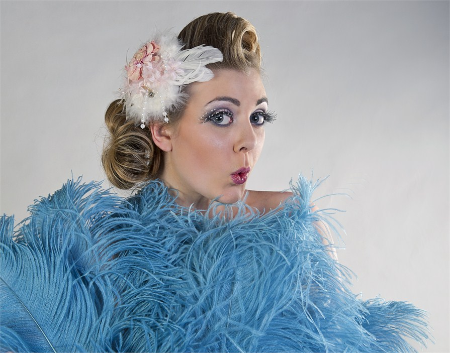 Burlesque / Model Sapphire Blue / Uploaded 7th January 2013 @ 05:43 PM