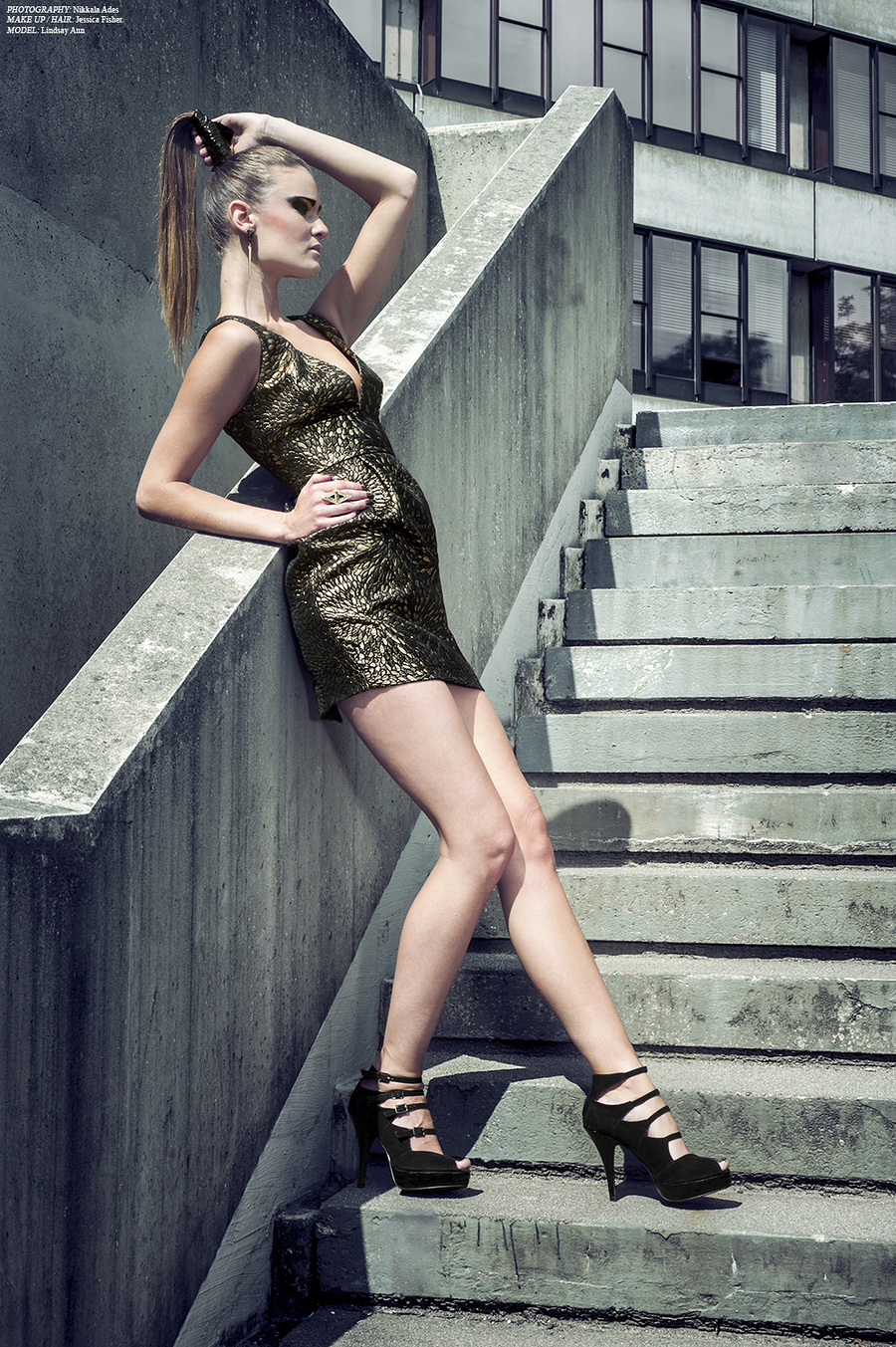 Project:Black and Gold / Photography by NIKKALA ADES PHOTOGRAPHY, Model Lindsey / Uploaded 20th July 2013 @ 08:23 PM