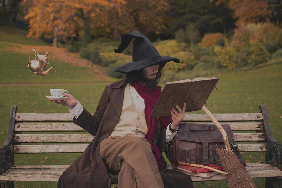 Tea and wizard studies / Photography by Rook Photos, Post processing by Rook Photos / Uploaded 24th October 2020 @ 06:20 PM