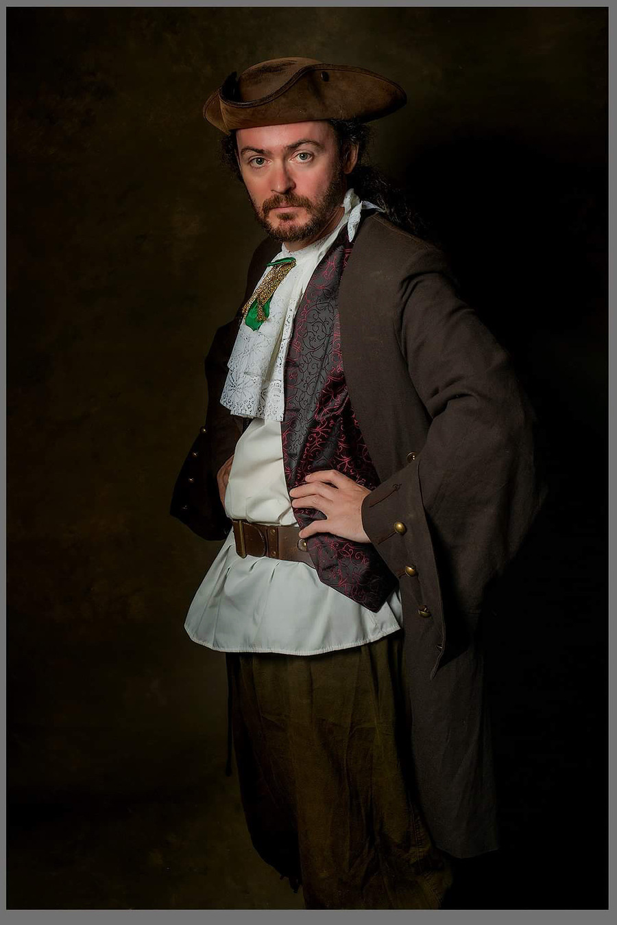Portrait of a Pirate / Photography by Richard Adams Captured Moments, Model The Bard, Post processing by Richard Adams Captured Moments / Uploaded 22nd September 2019 @ 09:17 AM