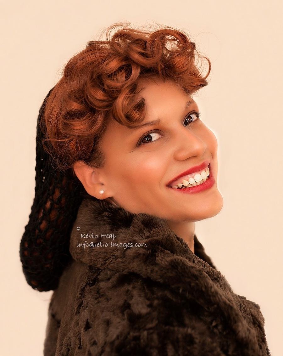 1940 / Model 👑 Miss V, Makeup by Auburn / Uploaded 29th September 2019 @ 10:39 AM
