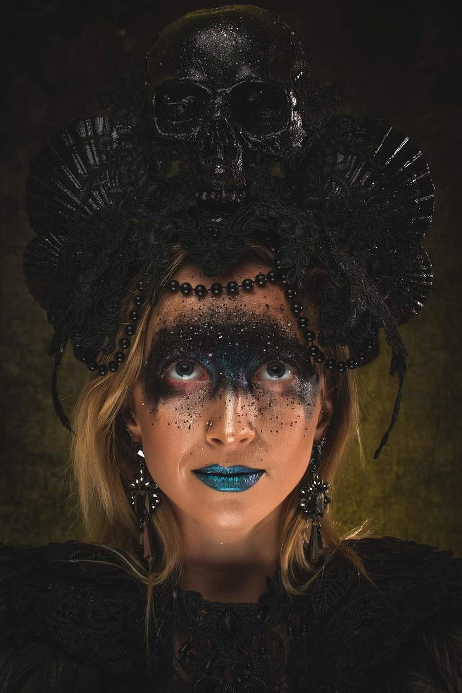 Photography by C-Imagery, Model CJlock, Makeup by Sister Of Sinister, Taken at Rochester Studios, Assisted by Iain Blacklock / Uploaded 31st October 2019 @ 11:39 PM