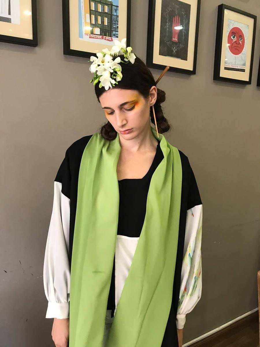 Modern Geisha AW17- Fashion Film / Hair styling by Jessica williams, Designer MeiMei / Uploaded 6th October 2017 @ 03:49 PM