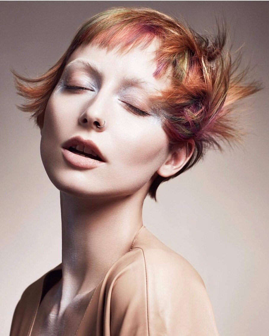 Uk finalist for Goldwell! / Model Marie Jean Taylor / Uploaded 15th June 2018 @ 05:54 PM